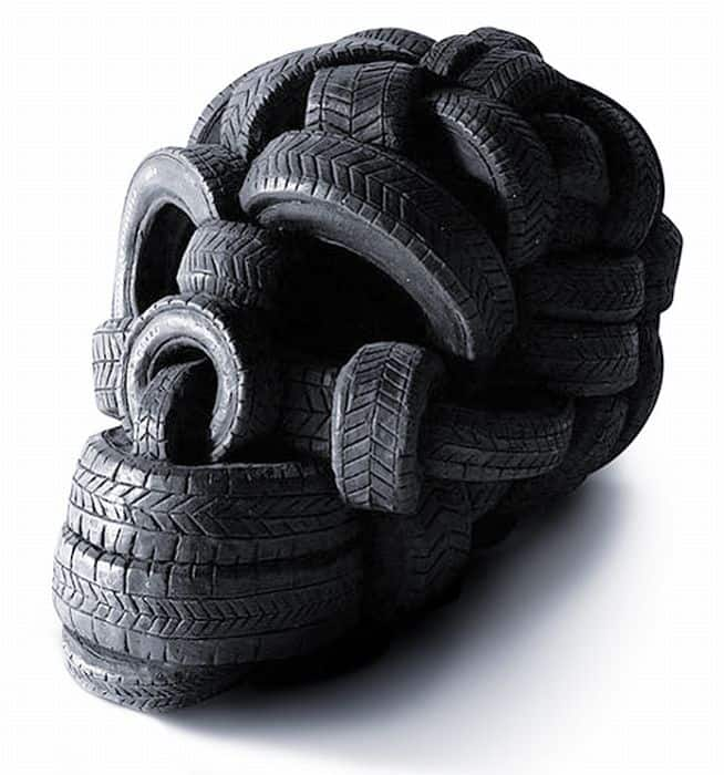 What you can do with old winter tires dravens tales from for What do you do with old tires