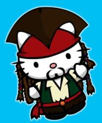 Sparrow gatito - Hello Kitty