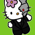 Terminator Kitty – Hello Kitty