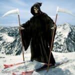 A morte em esquis