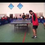 Ibrahim Elhoseny plays table tennis with no arms