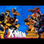 X-Men: Cartoon Intro von 1992 w ruchu stop