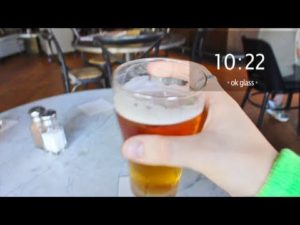 St. Patrick's Day through Google Glass
