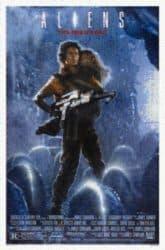 Aliens Poster aus unzähligen Movie Screenshots