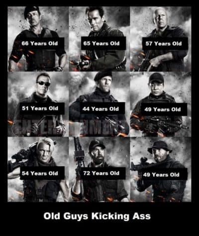 Old Guys Kicking Ass