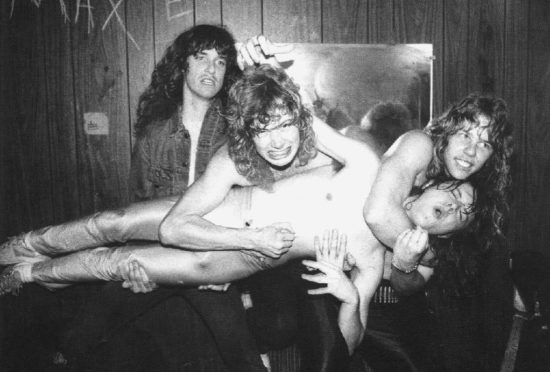 Old School Metallica