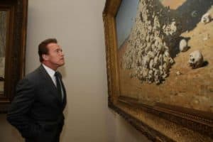 Schwarzenegger und die Kunst