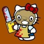 Hello Leather Face – Hello Kitty