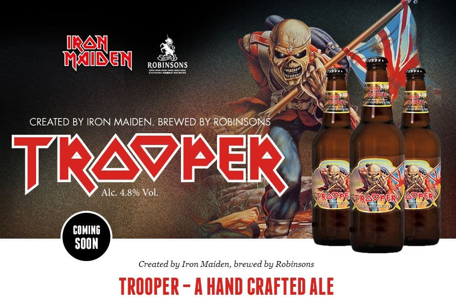 458b7ca9 Trooper - Soon there will be Iron Maiden Beer | Dravens Tales from ...