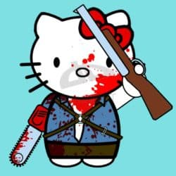 Hola Boomstick - Hello Kitty