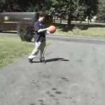 Over inflated balls can explode