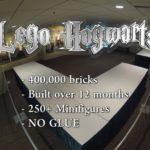 Lego Hogwarts: 400'000 Steine im Zeitraffer zusammen gestellt