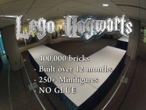 Lego Hogwart: 400'000 Kamienie w szybko opracowano