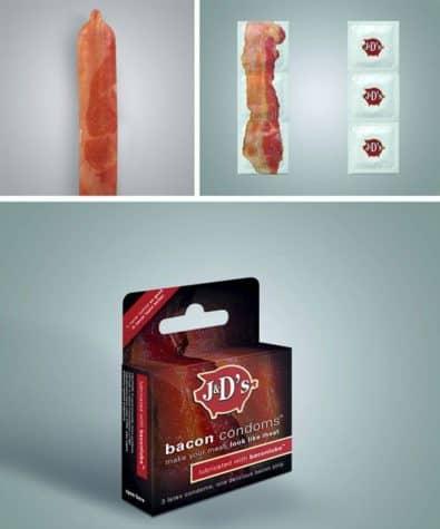 Speck Kondomer - Bacon Condome