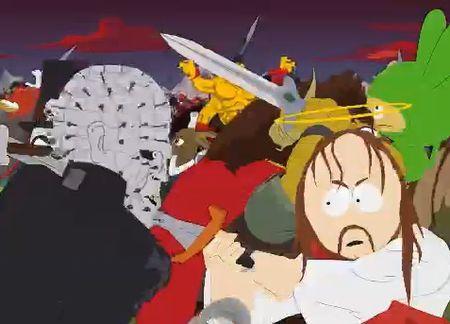 Jesus kämpft gegen Pinhead