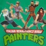 Italiaanse Renaissance Ninja Schilders