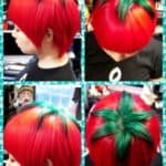 Tomaten Frisur aus Japonya РJaponya'dan domates Sa̤