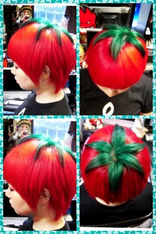 Tomaten Frisur Aus Japan Tomato Hairstyle From Japan Dravens
