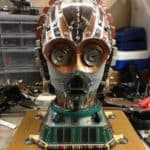 C3PO from old computer parts