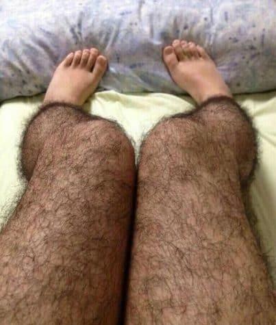 Haarige Strümpfe gegen Perverse - Anti Pervert Hairy Stockings