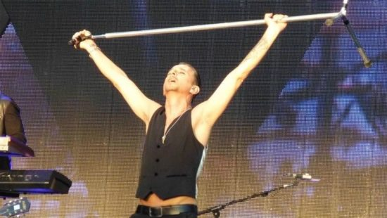 Depeche Mode im Stade de Suisse, Berno