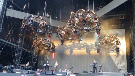 Depeche Mode im Stade de Suisse, Berna