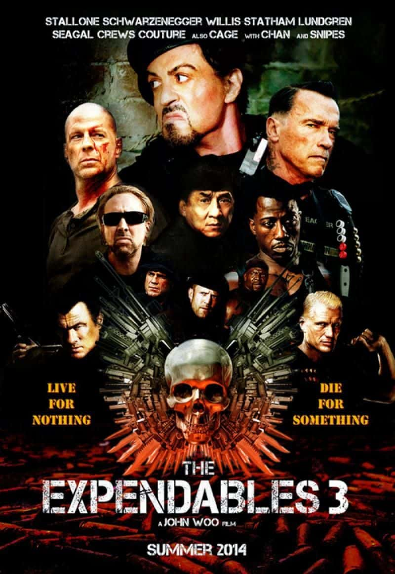 quotthe expendables 3quot cast und poster dravens tales from