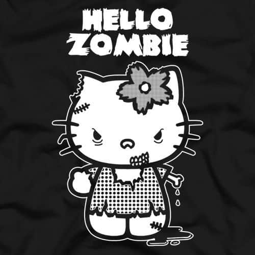 Hallo Zombie - Hello Kitty