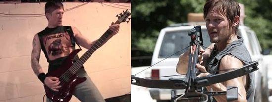 Der neue Machine Head Bassist kommt mir bekannt vor