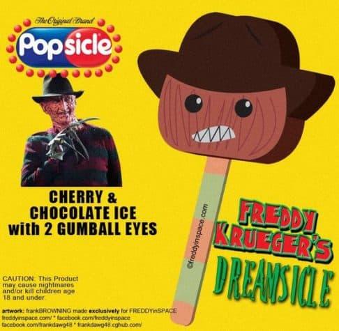 Freddy Horror Movie Eis am Stiel