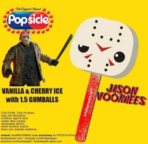Jason Horror Movie Eis am Stiel