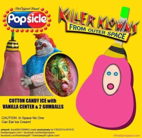 Killer Klowns Horror Movie Eis am Stiel