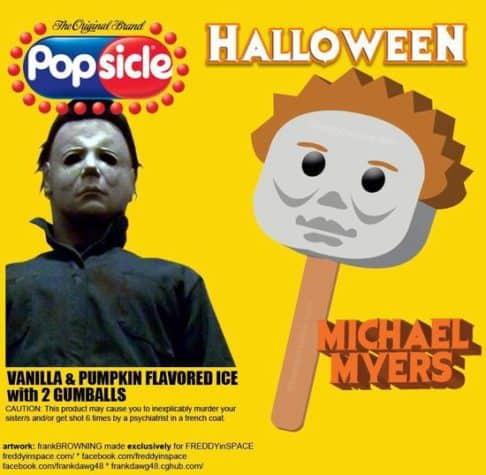 Halloween Horror Movie Eis am Stiel