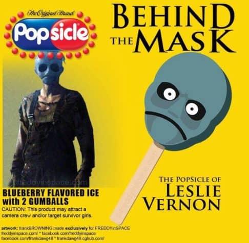 Behind the Mask Horror Movie Eis am Stiel