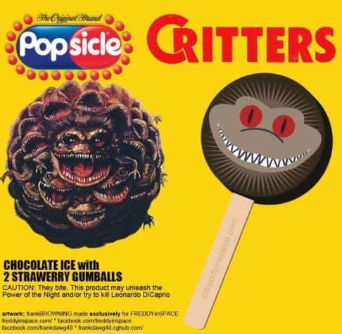 Critters Horror Movie Eis am Stiel