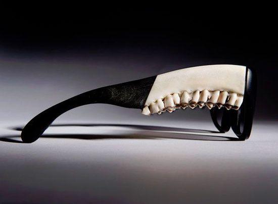 Kieferknochen Sonnenbrillen