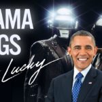 Barack Obama Singing conseguir afortunado por Daft Punk