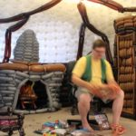 Bilbo Beutlin's Haus aus Luftballons