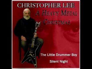 Christopher Lee synger til jul Heavy Metal