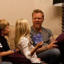 James Hetfield aime ses enfants - und Megadeth