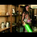 Michonne is a Jedi – With a lightsaber against the zombie threat