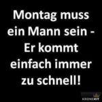 Mandag mÃ¥ være en mann…