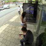 Photoshop Live – Retouched Waiting at the bus stop