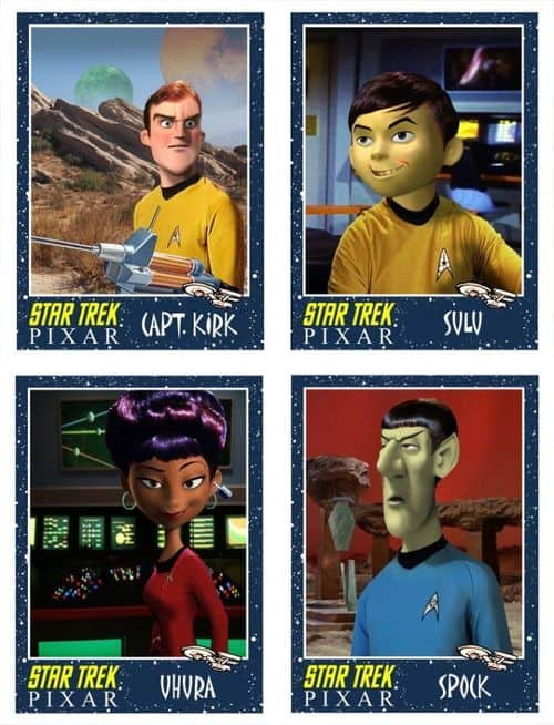 Pixar Star Trek