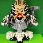 Predator Büste aus Lego