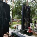 Máfia Russa graves pedras – Lápides máfia russa