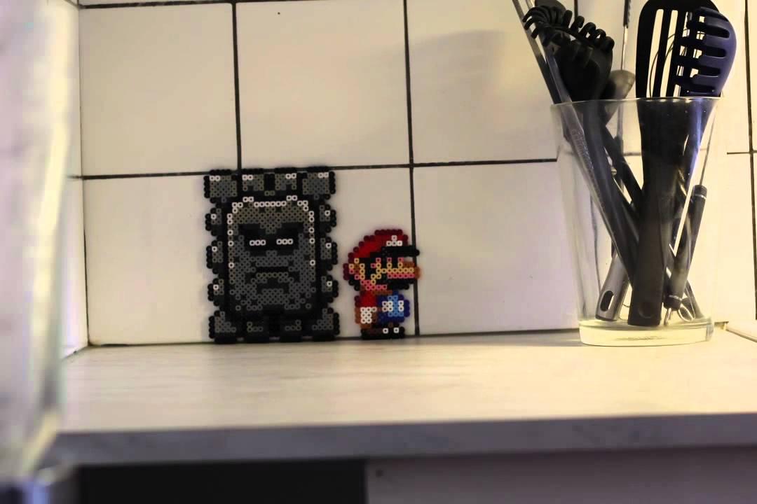 Super Mario kämpft sich durchs Real Life