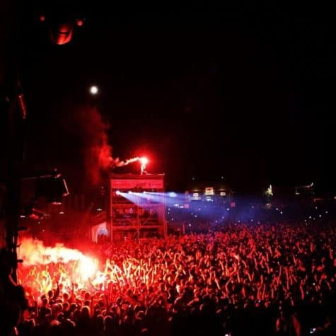Die Toten Hosen na Gurtenfestival