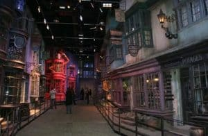 Hiking with Google Maps through Harry Potter's Diagon Alley