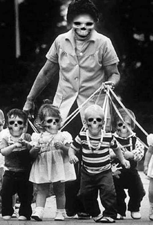 Unterwegs mit den Kids der Gruft